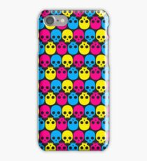 CMYK Skulls iPhone Case/Skin