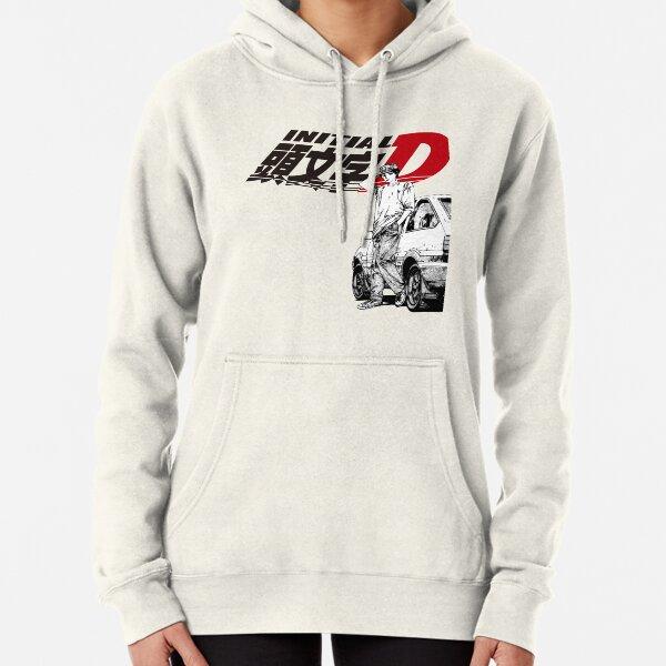 Initial D Logo Hoody Hoodie Hooded Top