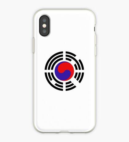 Korean Patriot Flag Series iPhone Case