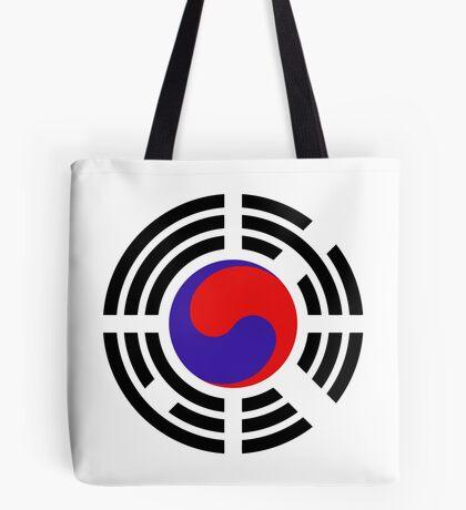 Korean Patriot Flag Series Tote Bag