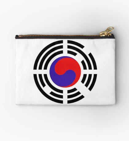 Korean Patriot Flag Series Zipper Pouch
