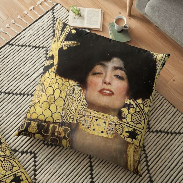Gustav Klimt, Judith  Floor Pillow