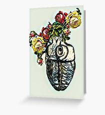 Heart of Roses Greeting Card