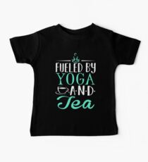 Fueled by Yoga and Tea Kids Clothes