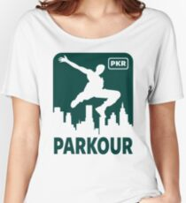 PARKOUR - FREERUNNING - TRACEUR Women's Relaxed Fit T-Shirt