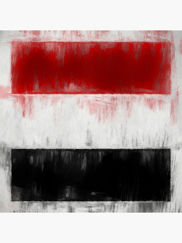 Yemen Flag Reworked No. 2, Series 2 by 8th-and-f