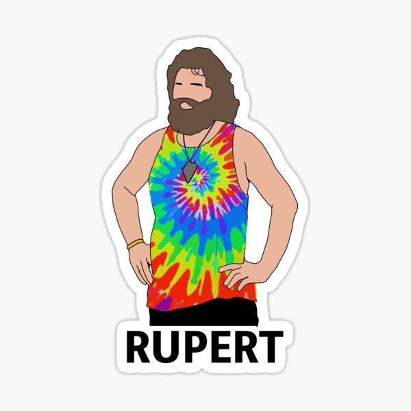 CBS Survivor- Rupert Boneham Sticker