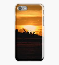 Scampton Sunset  iPhone Case/Skin