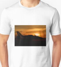 Scampton Sunset  Unisex T-Shirt