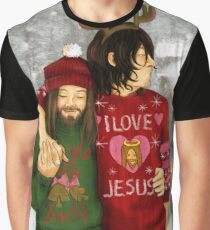 Merry Christmas Daryl & Jesus Graphic T-Shirt