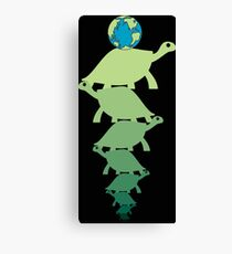 Turtles all the way down (ocd awareness) Canvas Print