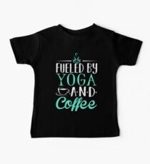 Fueled by Yoga and Coffee Kids Clothes