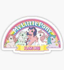MY LITTLE PONY - 80s Sticker