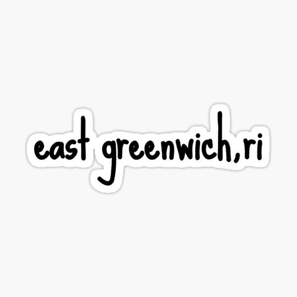 east greenwich ri Sticker