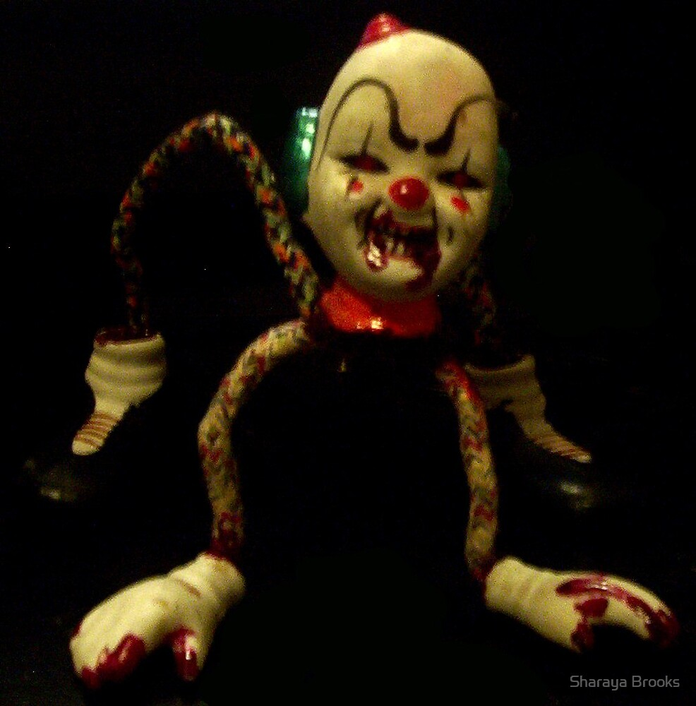Clown by Sharaya Brooks