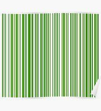 Barcode Quooki Barcode Green Poster