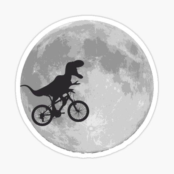 T-rex faire du vélo Sticker