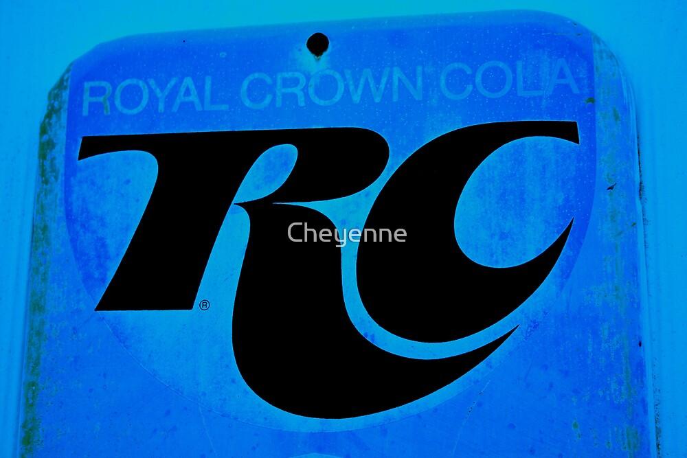 Royal Crown Cola by Cheyenne