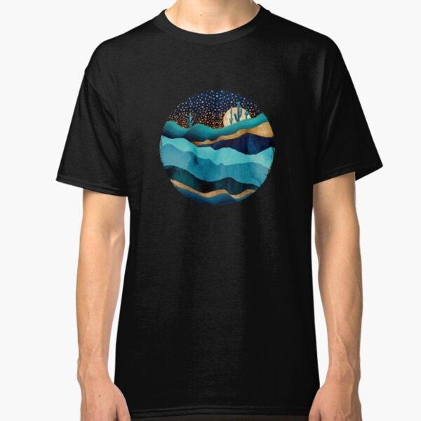 Indigo Desert Night Classic T-Shirt