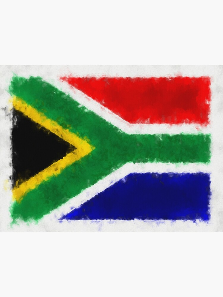 South Africa Flag Reworked No. 66, Series 5 by 8th-and-f