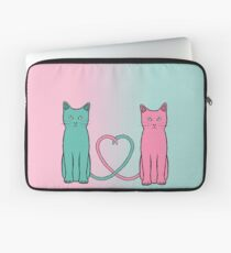 Cat Love Laptop Sleeve