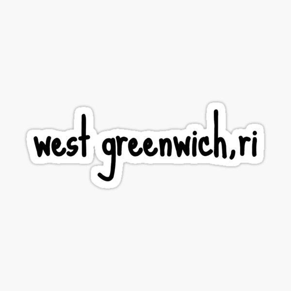 west greenwich ri Sticker