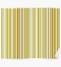 Barcode Quooki Barcode Yellow Poster