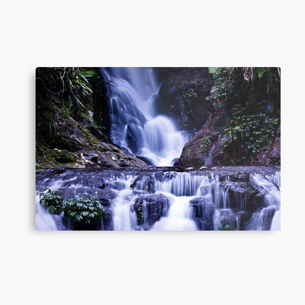 Elebana Falls Green Mountain Metal Print