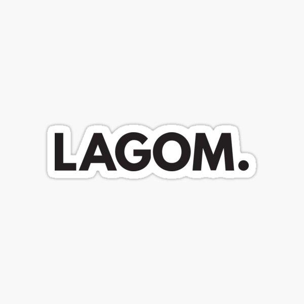 Lagom Sticker
