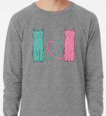 Cat Love Lightweight Sweatshirt