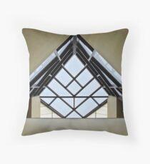 Directional Symmetry Throw Pillow