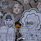 Pasteup Ladies by turningjapanese
