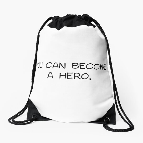 My Hero Academia - You Can Become A Hero Drawstring Bag