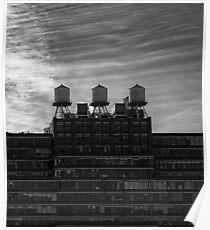 Starrett-Lehigh building in New York City Poster
