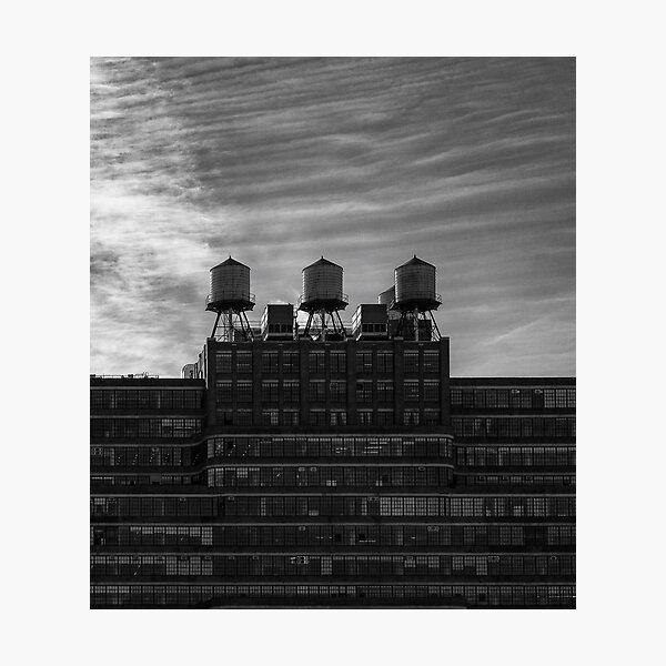 Starrett-Lehigh building in New York City Photographic Print