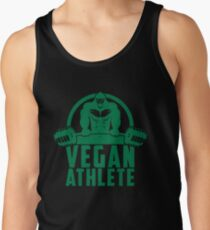 Vegan Athlete Muscle Gorilla - Funny Workout Quote Gift Tank Top