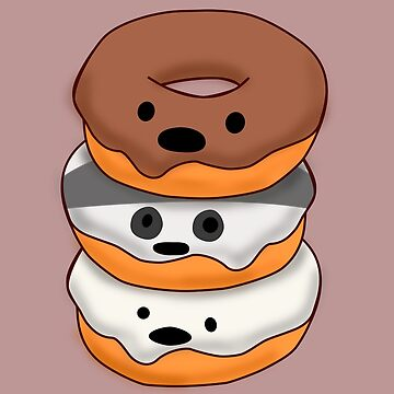 Bears Donuts by Cool-Art