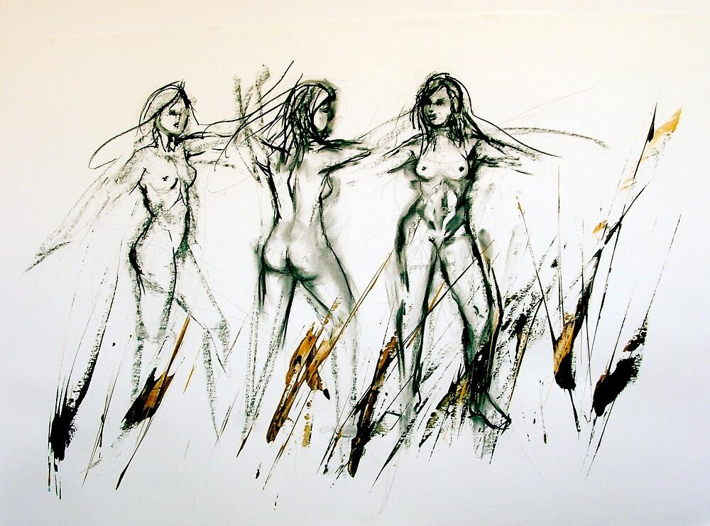 Dance III by bareearth