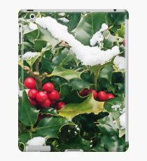 Christmas Holly iPad Case/Skin