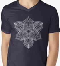 Mandala 5 T-Shirt mit V-Ausschnitt
