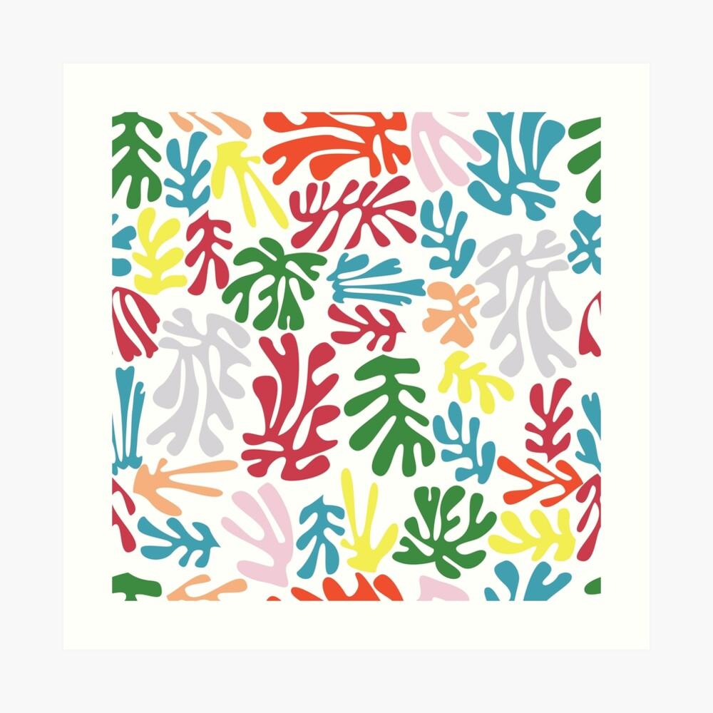 Patrón Matisse 004 Lámina artística