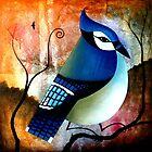 Blue Jay - 2011 by ArtistDavidKing