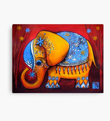 The Littlest Elephant Canvas Print