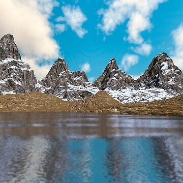 Mountain Lake by Vac1