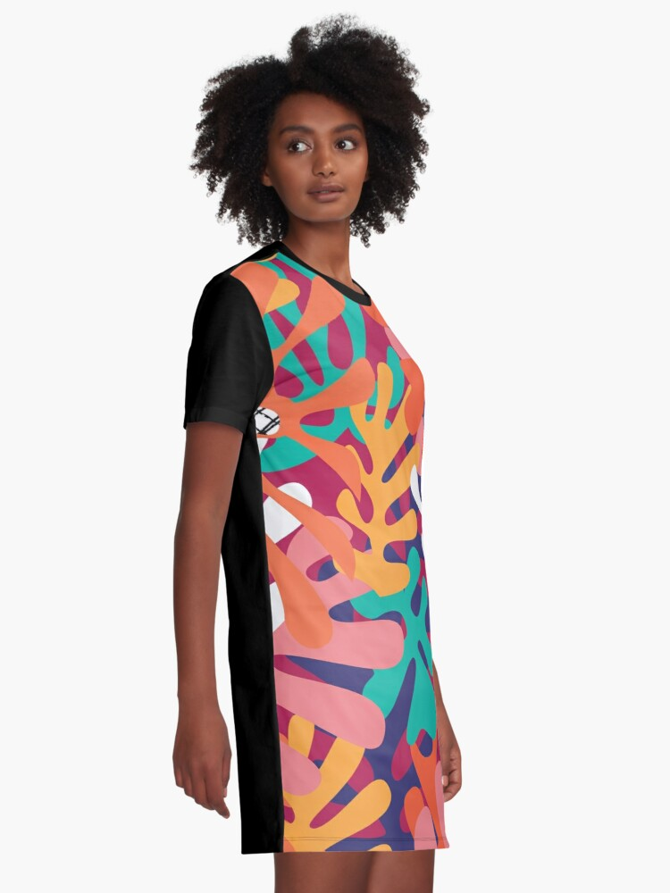 Alternate view of Matisse Pattern 006 Graphic T-Shirt Dress