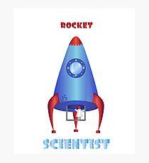 Rocket Scientist Photographic Print