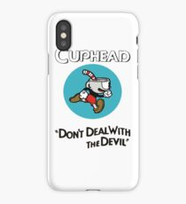 Trending Cuphead Don't Deal Snake Eyes Mens Graphic T Shirt iPhone Case/Skin