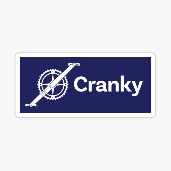 Cranky Mountain Bike Sticker MTB Sticker