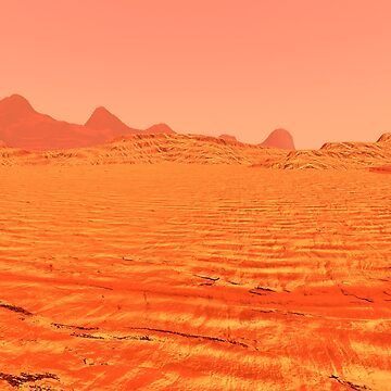 Planet Mars Lanscape by Vac1