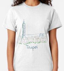 Taipei City Panorama Classic T-Shirt